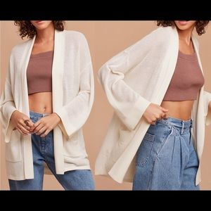 Aritzia Wilfred Copernic Cardigan sweater - M